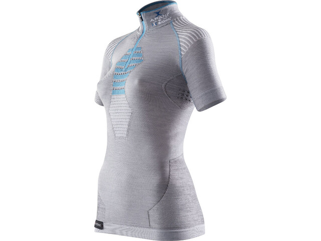 X-Bionic Apani Bielizna górna Kobiety szary/niebieski